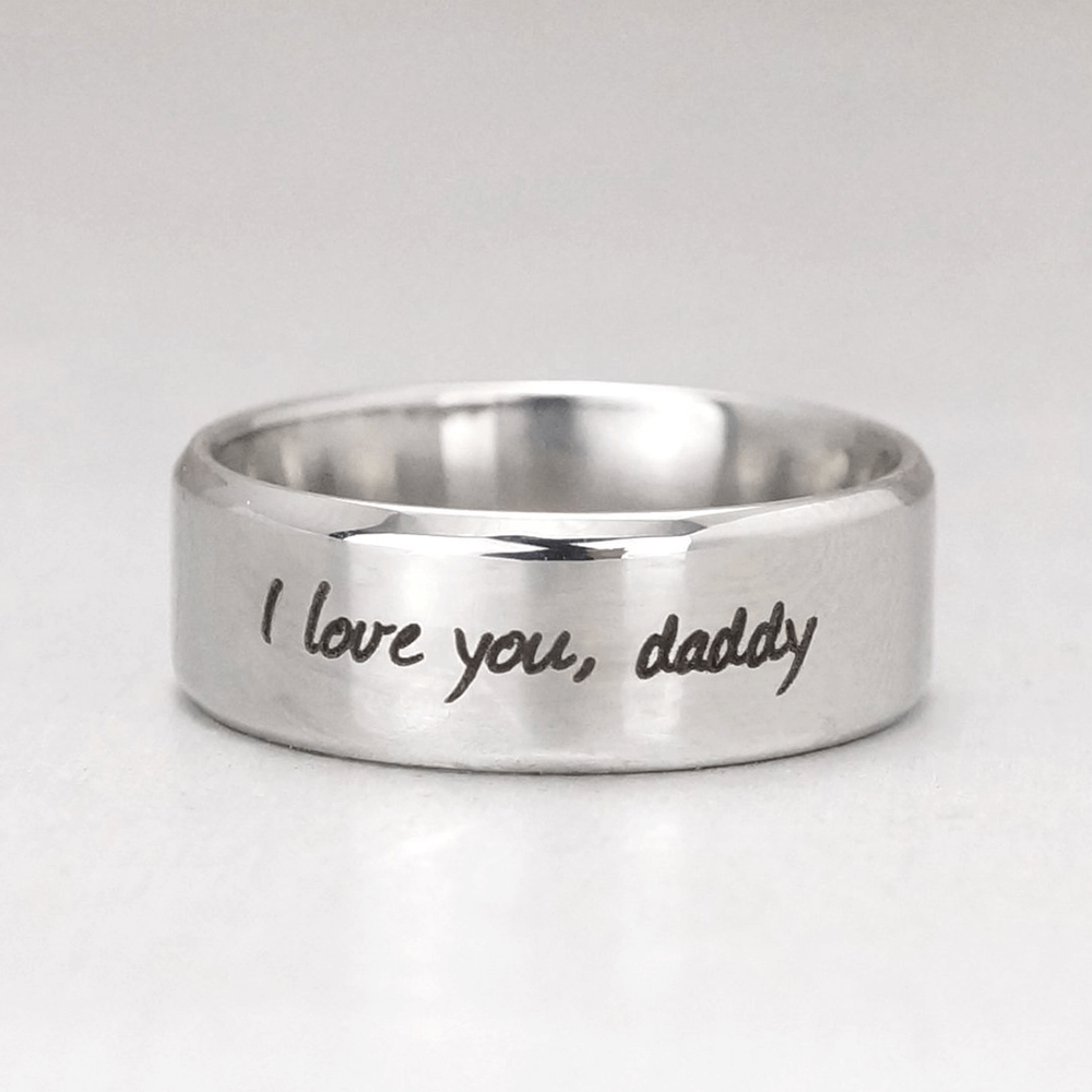 Handwriting Ring