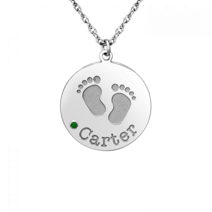 This is footprint pendant.
