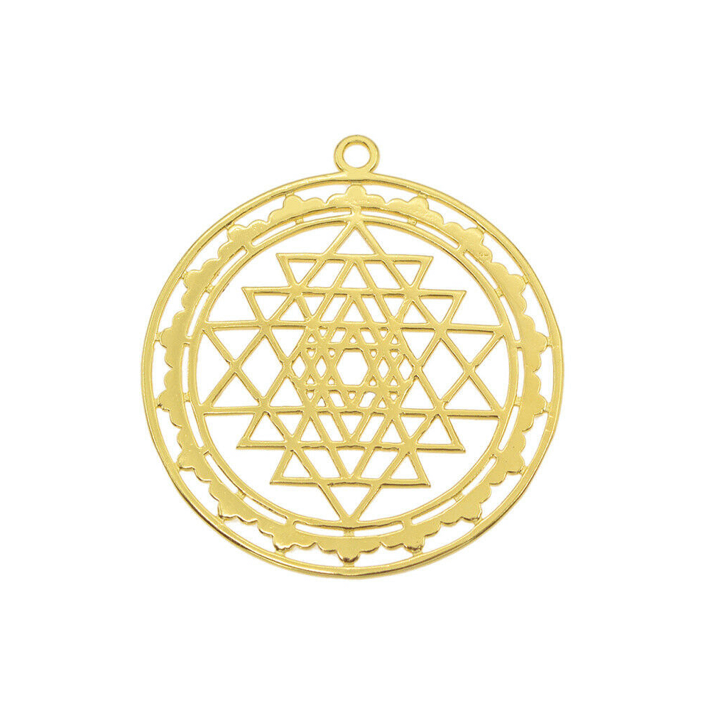 This is circle pendant.