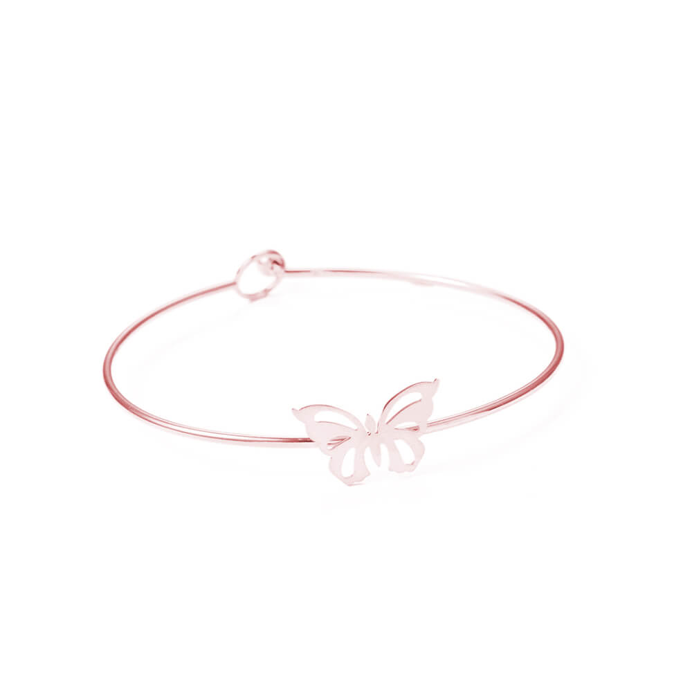This is butterfly shape adjustable bangle.