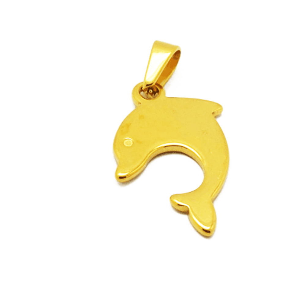 This is the gold fish pendant