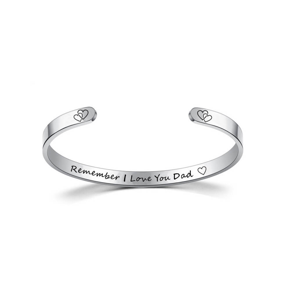 This is silver engraved cuff bangle.