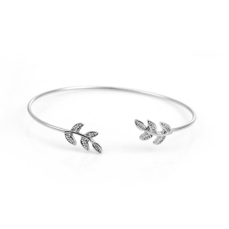 This is a leaf Open Cuff Bangles.