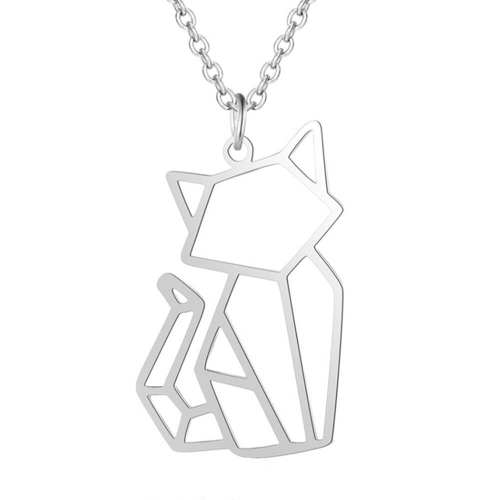 This is the cat pendant necklace.