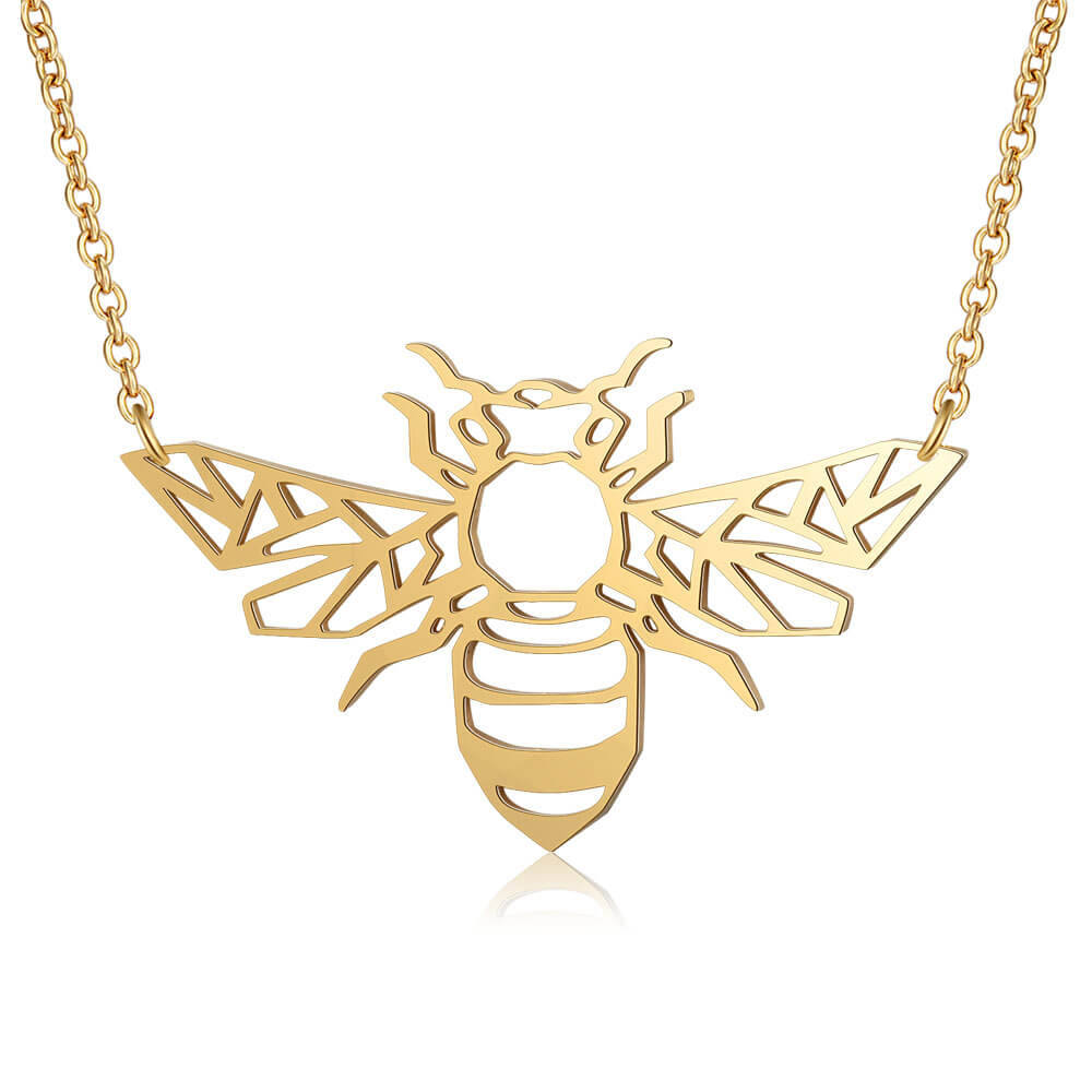 This is bee necklace.