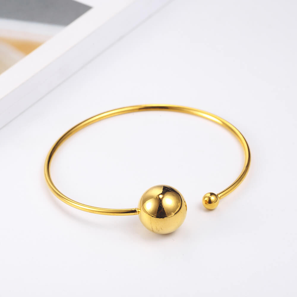This is ball cuff bangle.