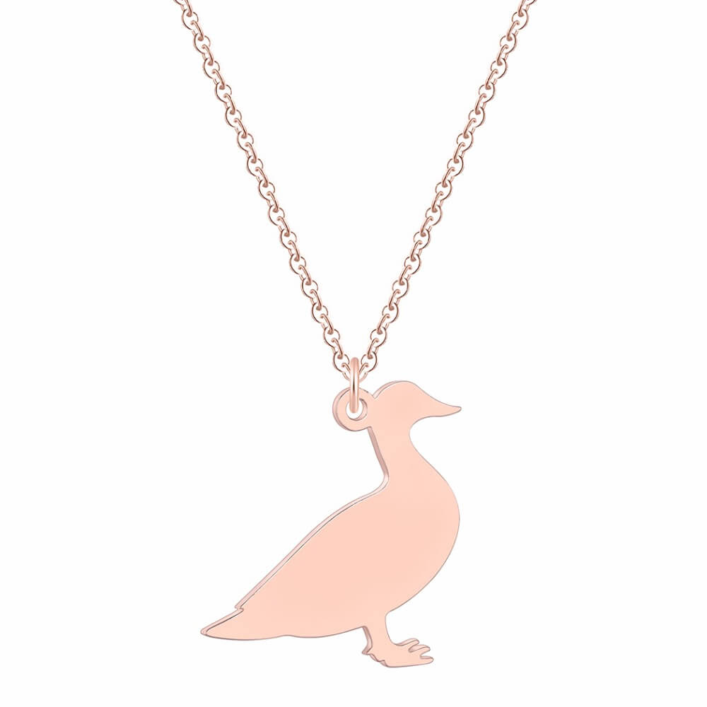 This is duck necklace.