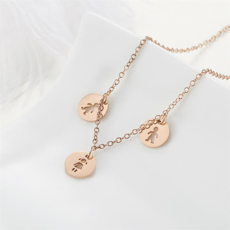 This is friendship necklace.