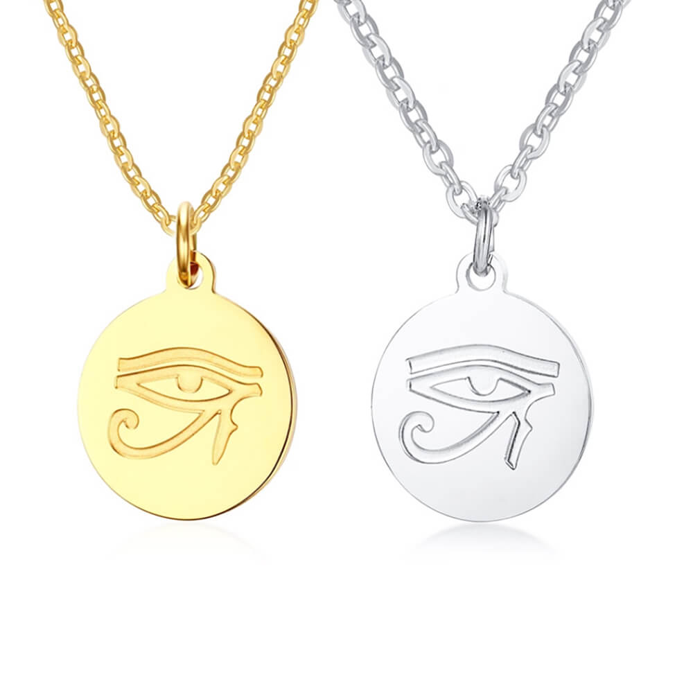 Two Colors Horus Eyes Necklaces