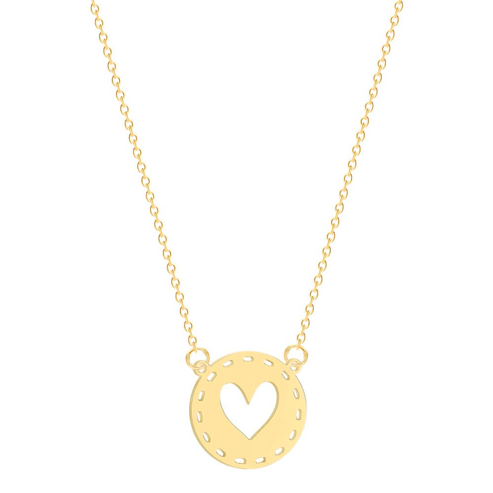 This is heart necklace.