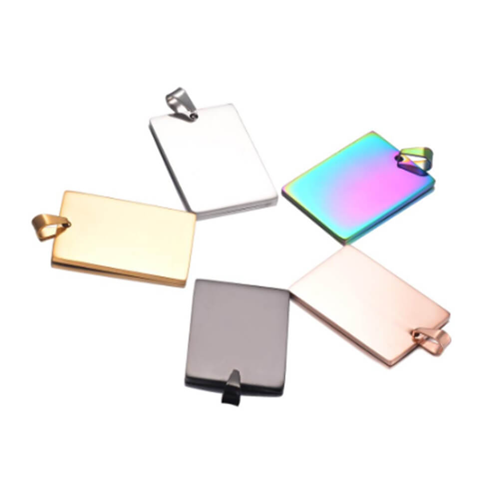 These are rectangle pendant.