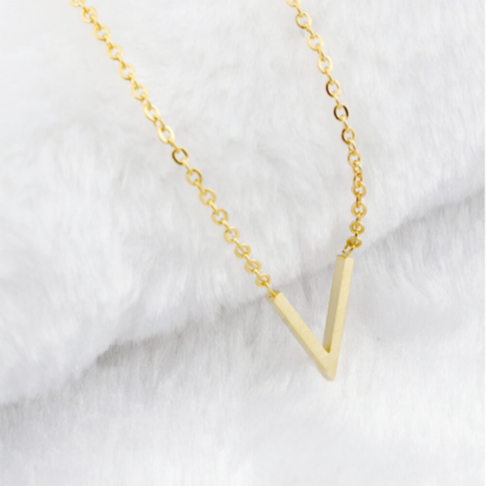 This is a V necklace.