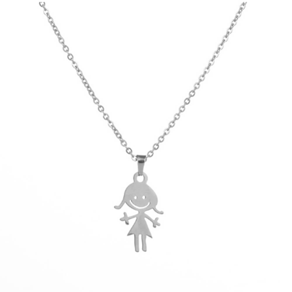 This is a girl necklace.