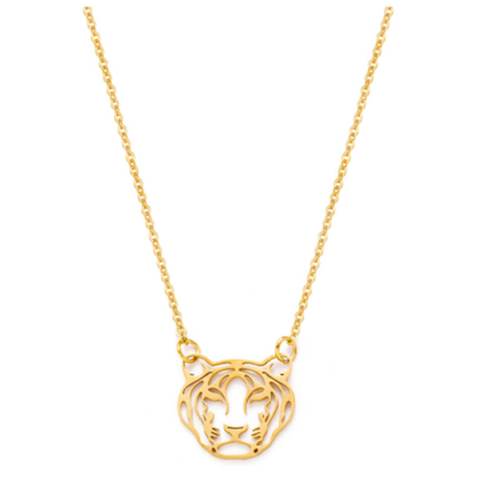 This is a tiger necklace.