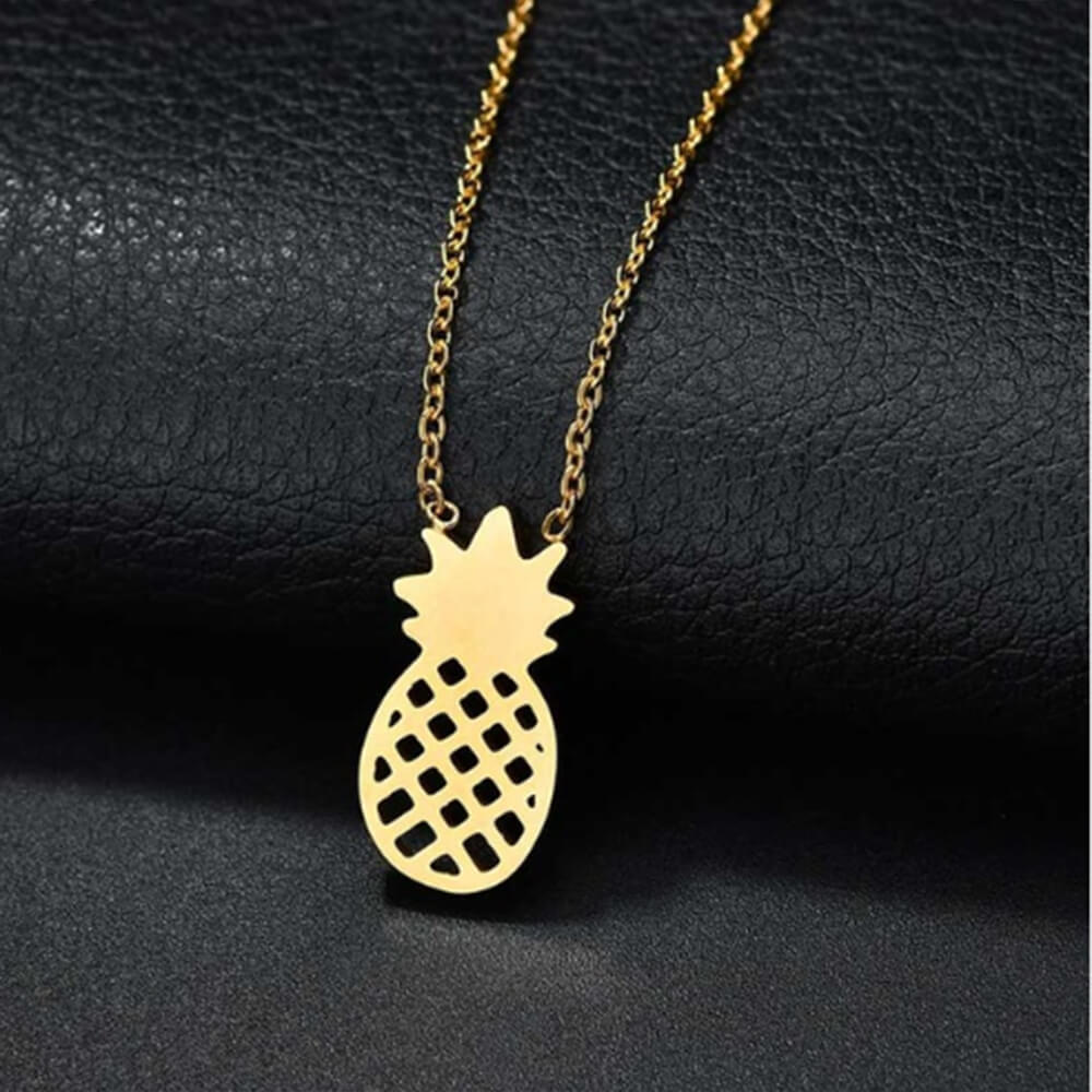 This is pineapple pendant.