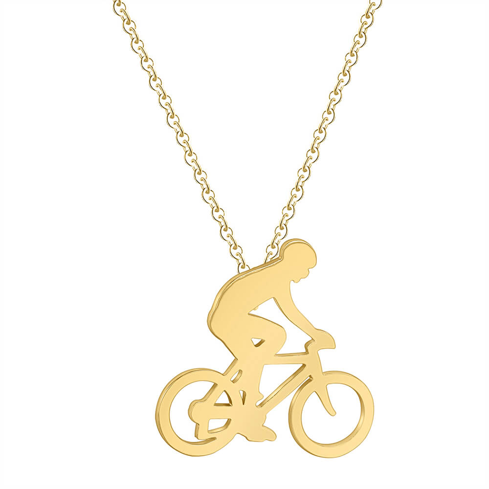 This is a bike necklace.