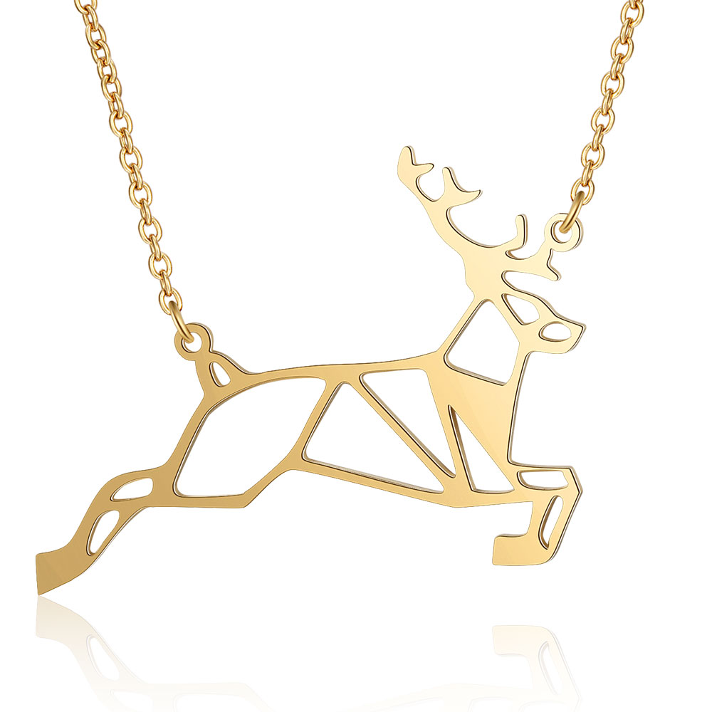 This is deer necklace.