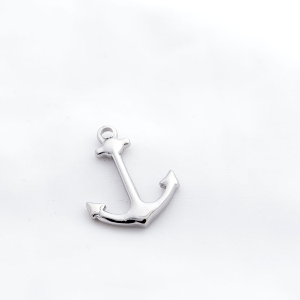 This is anchor shaped pendant.