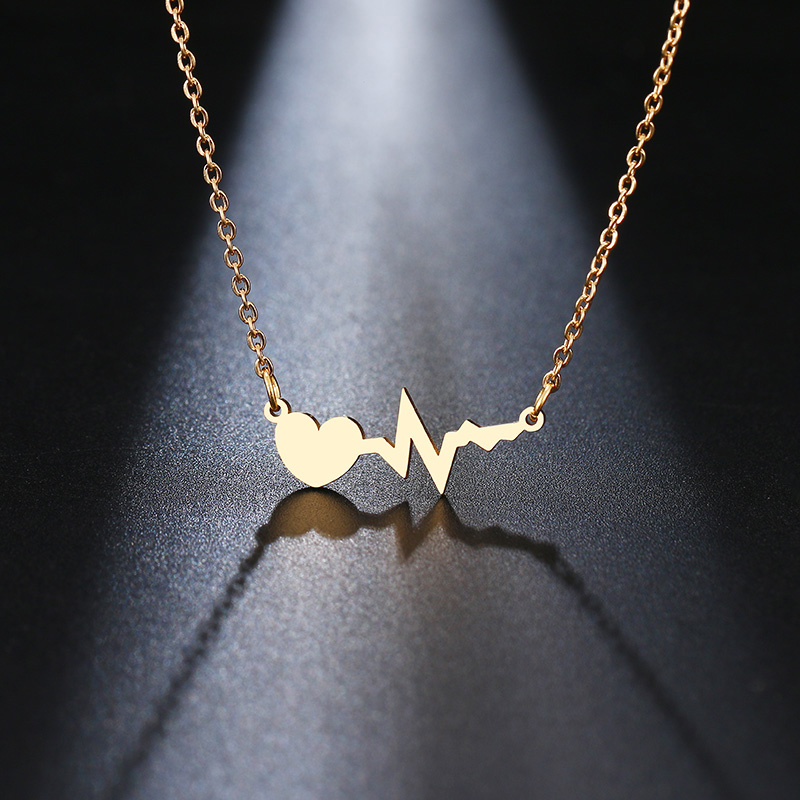 This is heart beat pendant.