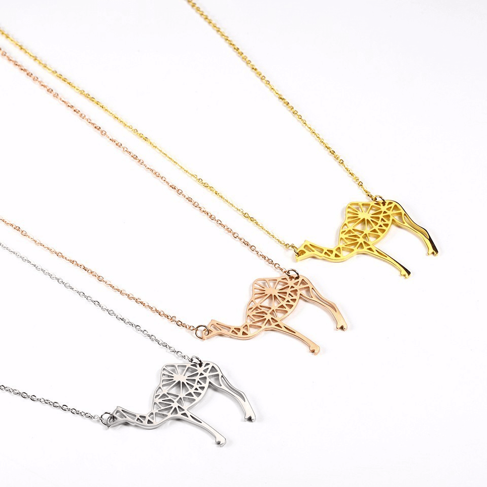 This is a camel necklace.