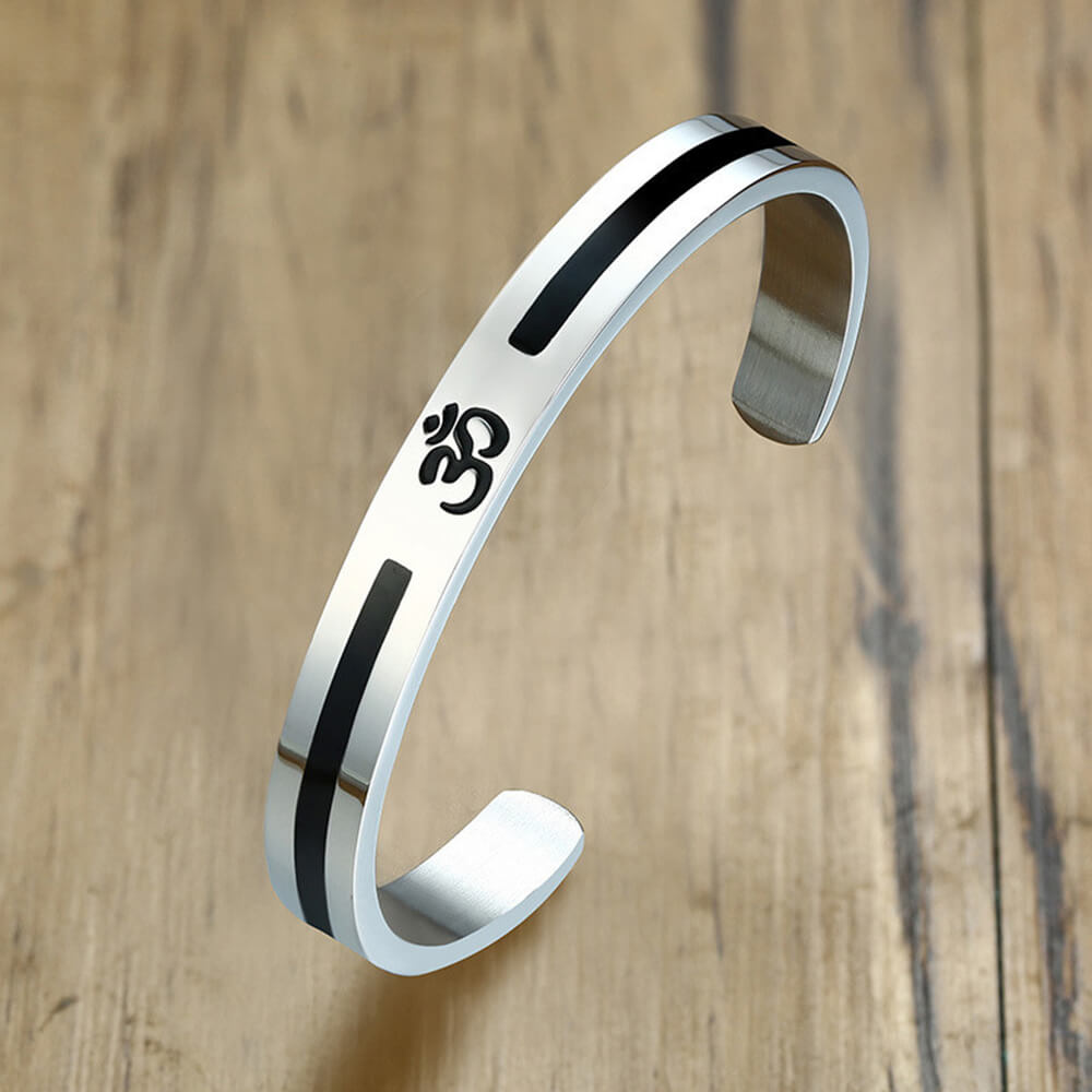 This is Yoga cuff bangle.