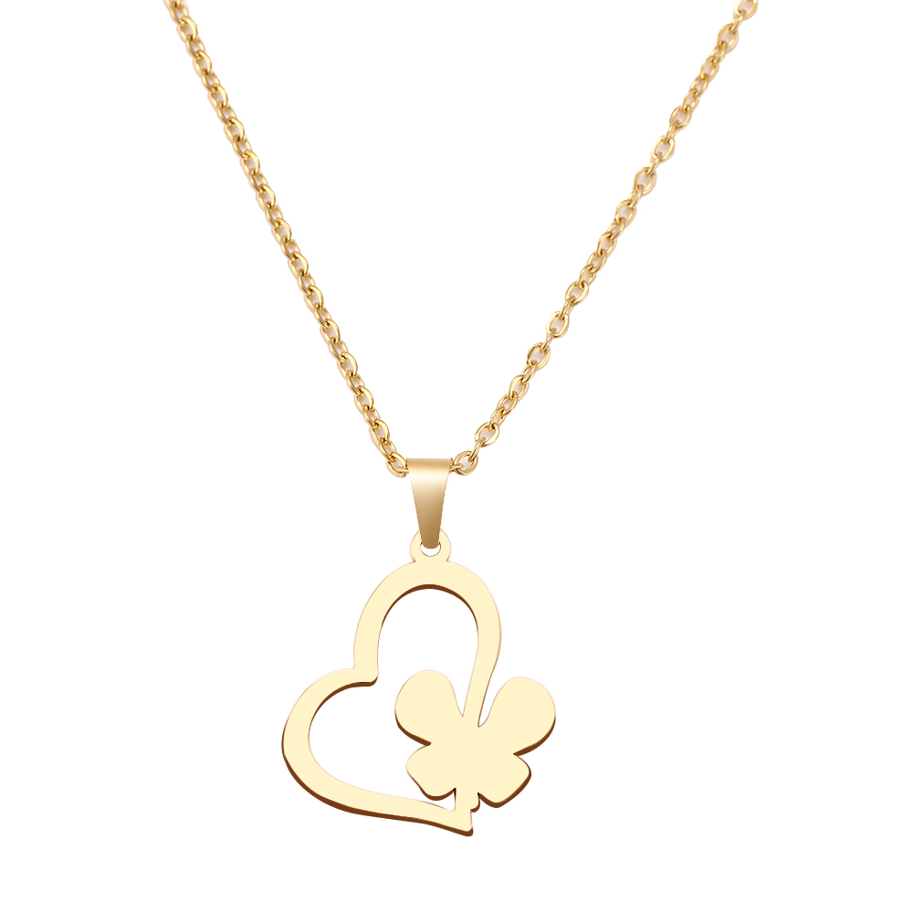 This is a heart necklace.