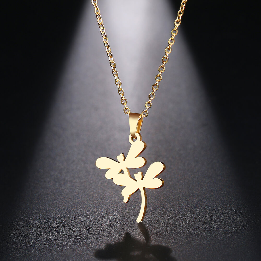 This is gold necklace.
