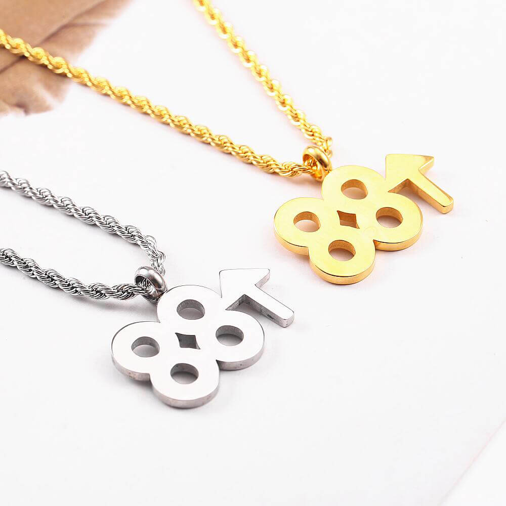 Number 88 Necklaces