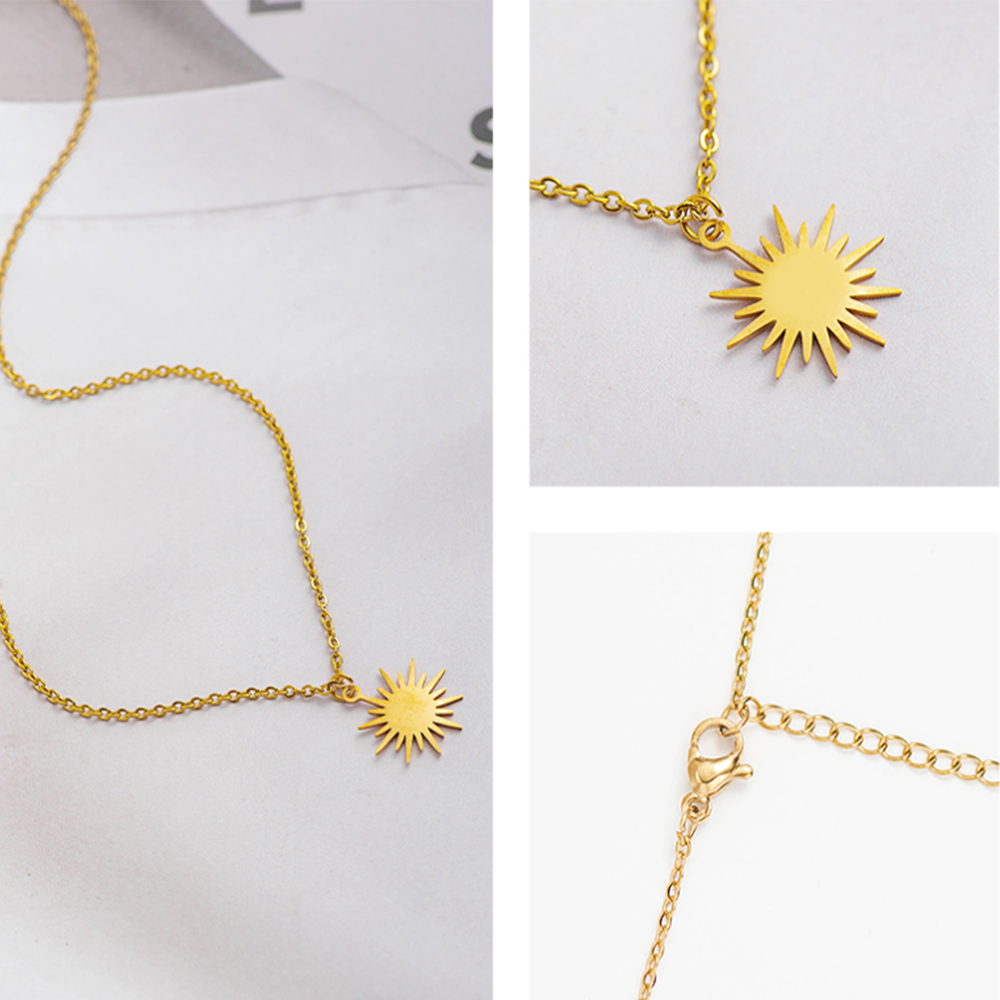 This is sun necklace