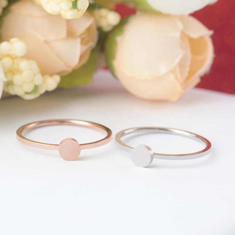 Minimalist small rings