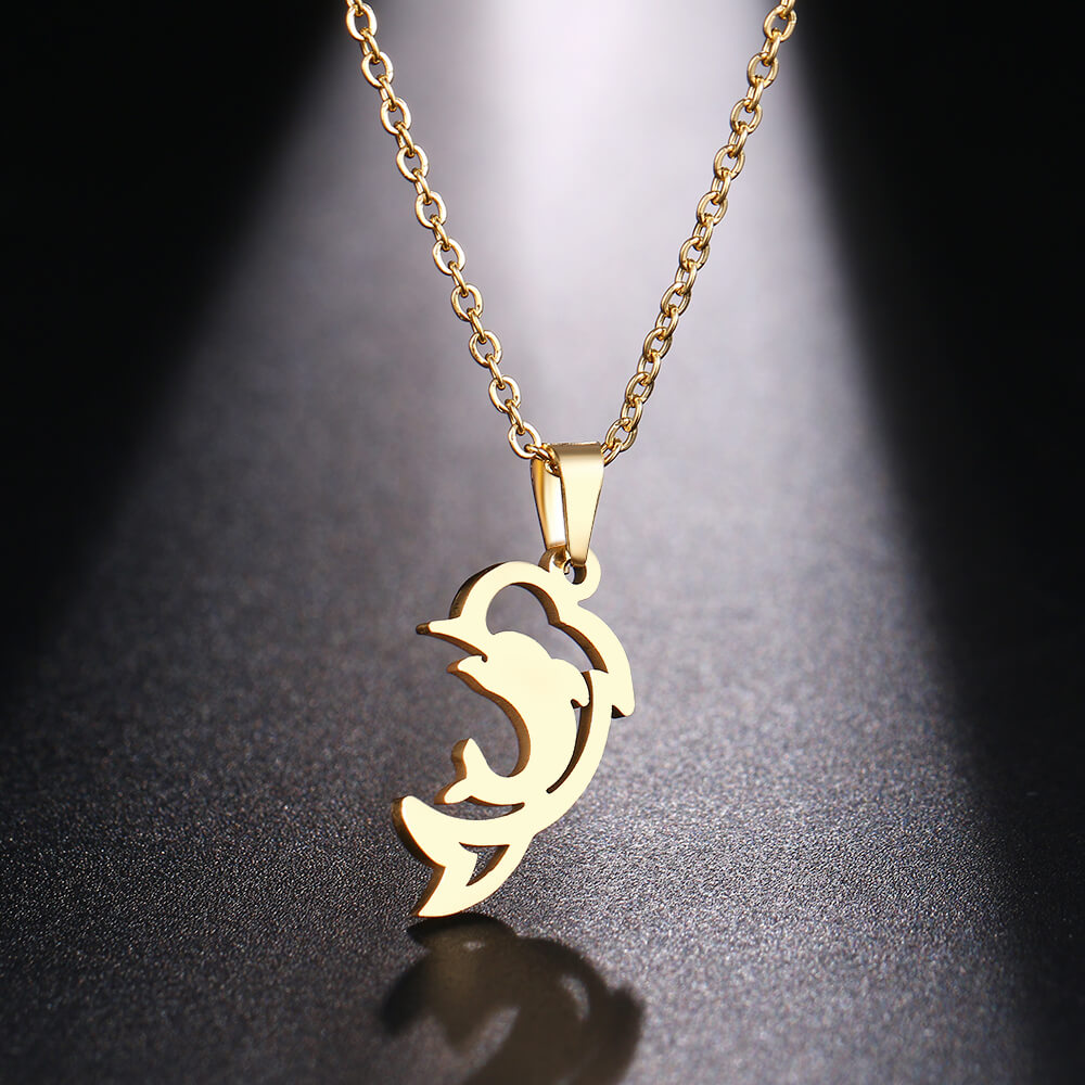 This is animal pendant necklace.