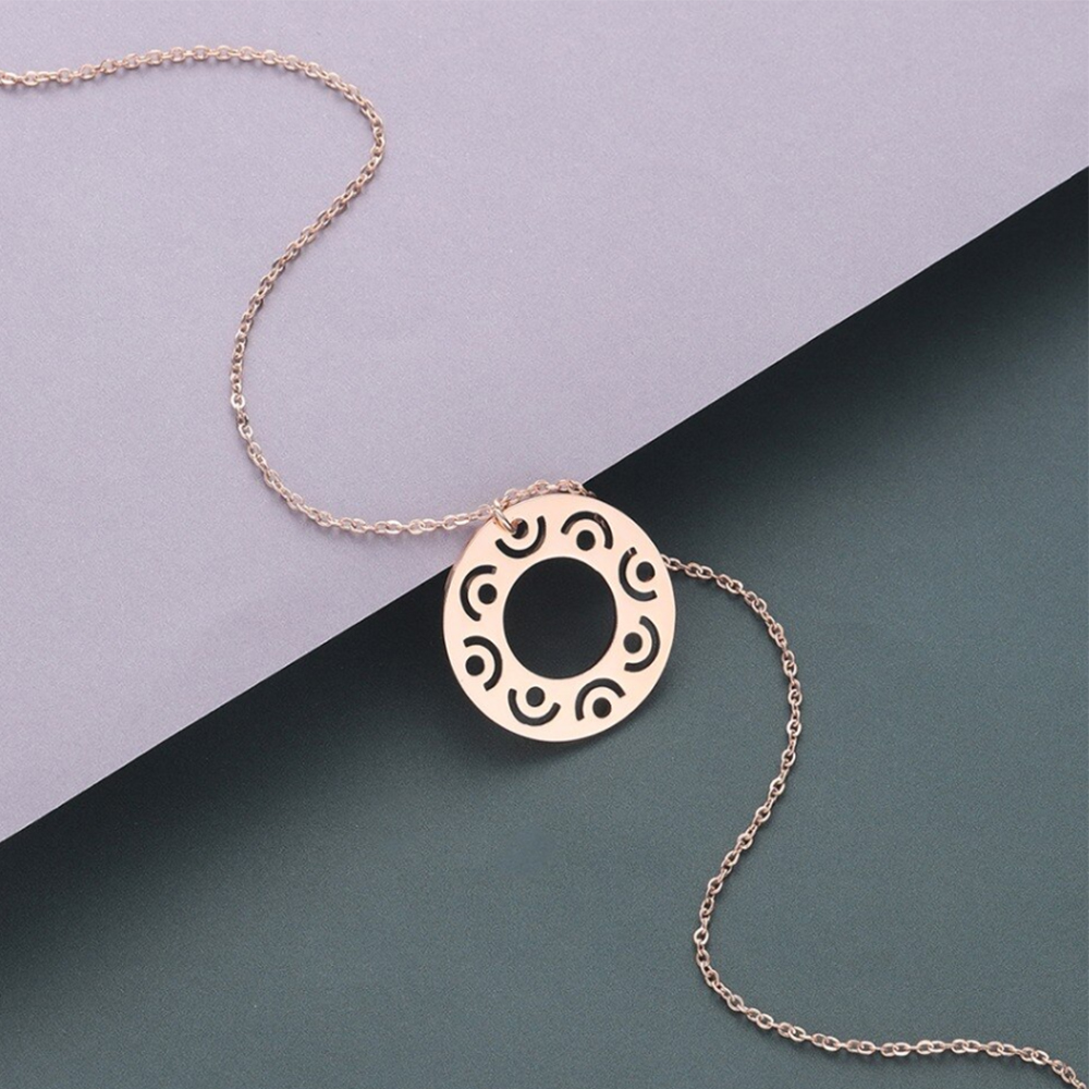 round mafa necklace
