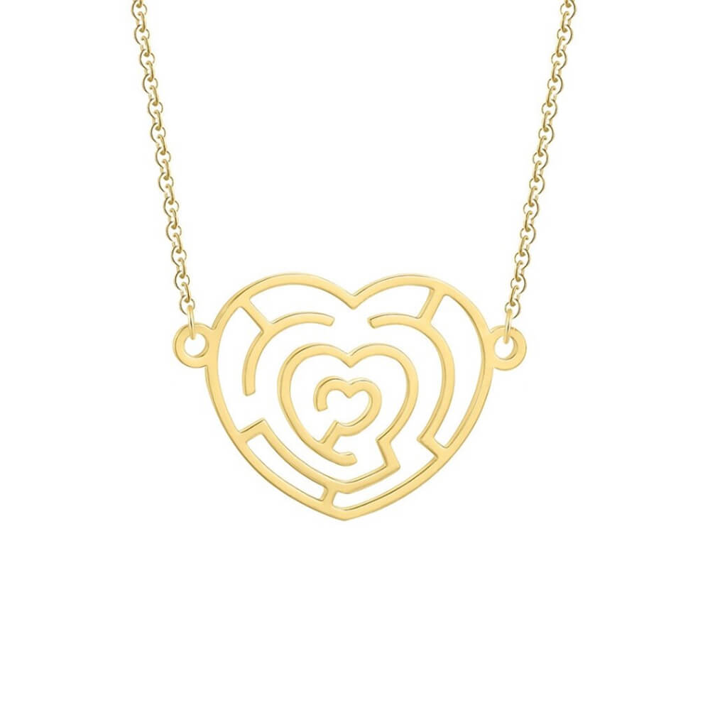 infinite heart necklace