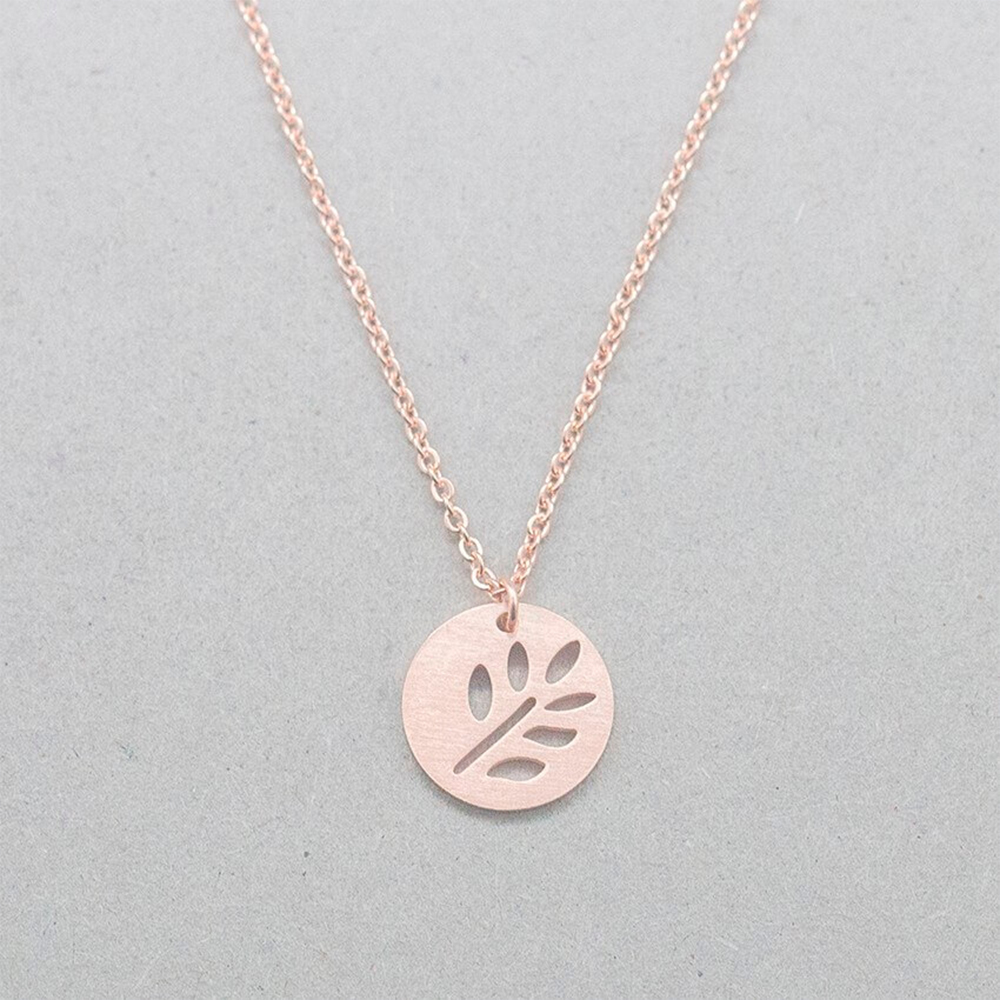 This is leaf pendant.