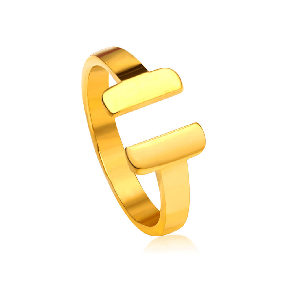 Gold Plated Purity Ring