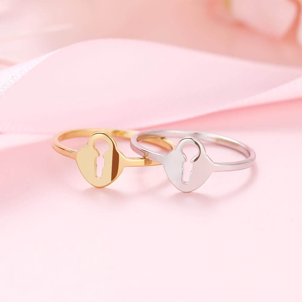 Love Lock Rings