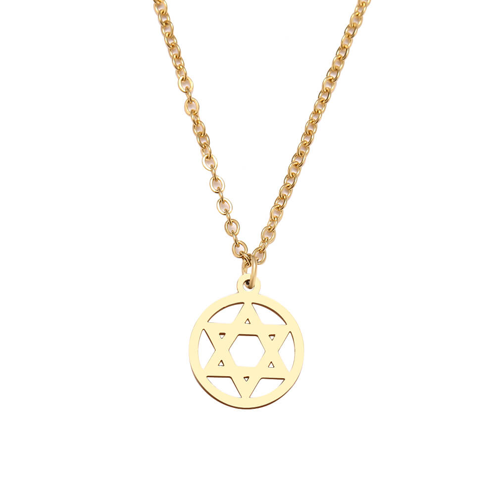 This is star necklace.