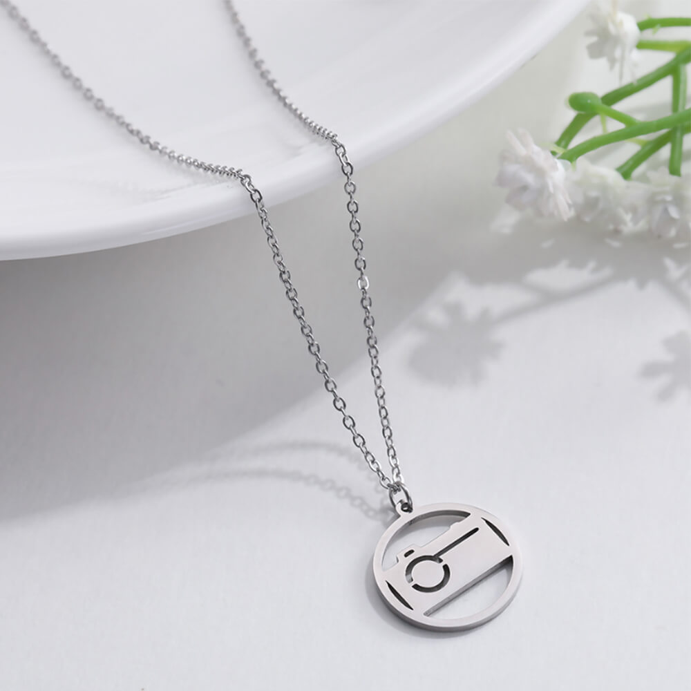 camer necklace