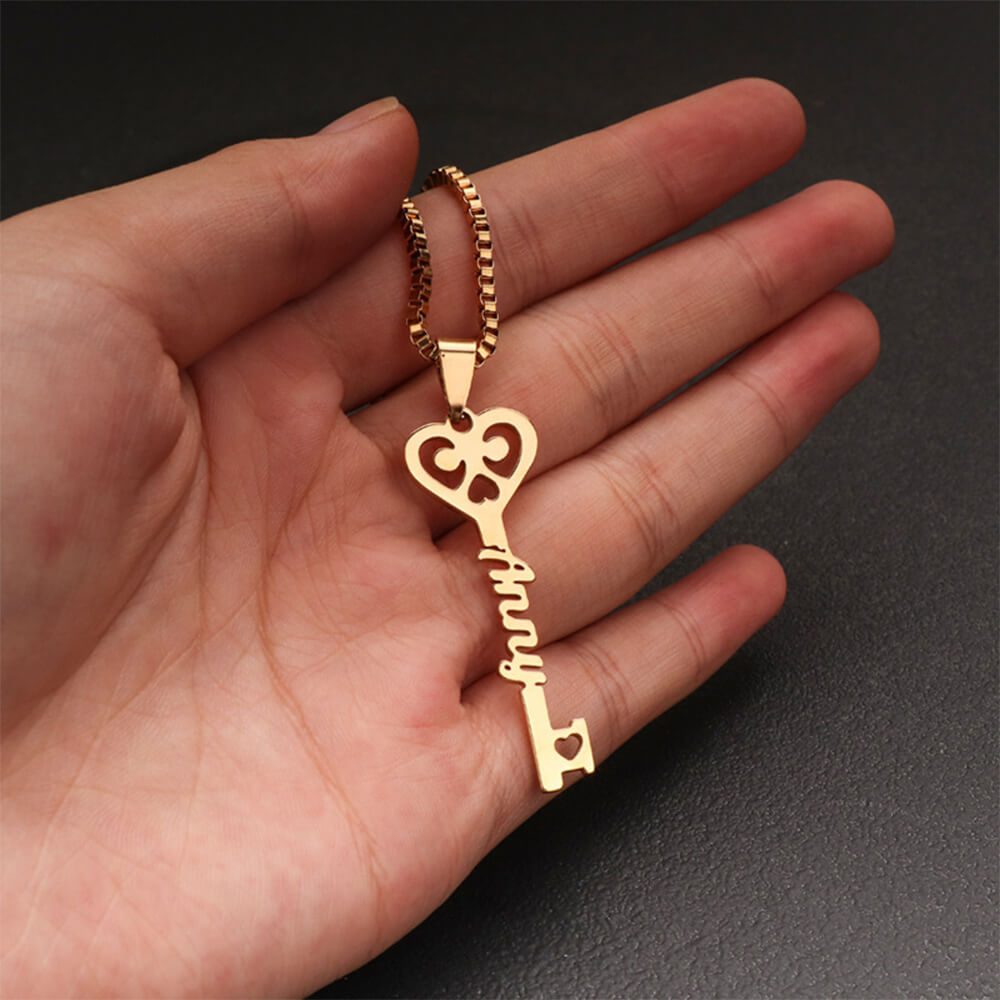 This is key pendant necklace.
