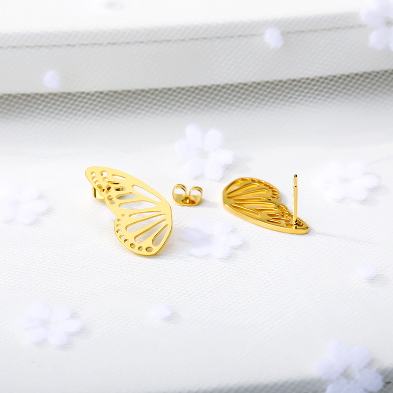 Minimalist Butterfly Earrings
