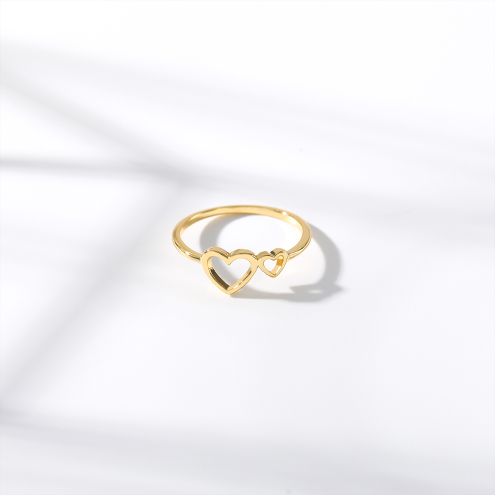 This is heart ring.