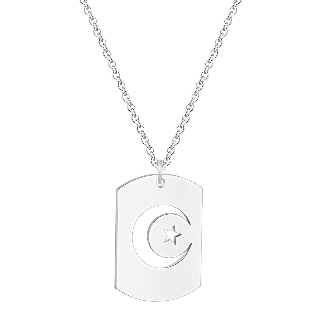 Dog Tags  Pendant Necklace